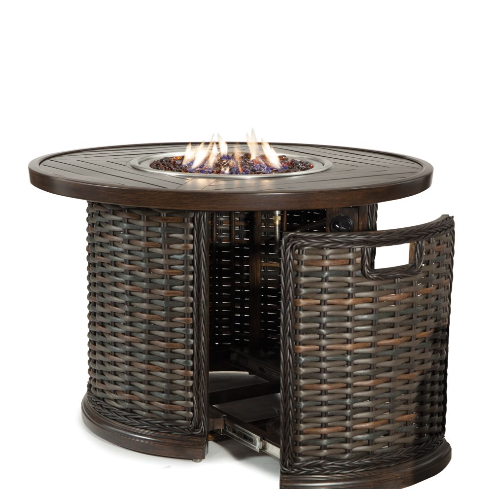 LANE VENTURE South Hampton 36in Round Gas Fire Pit