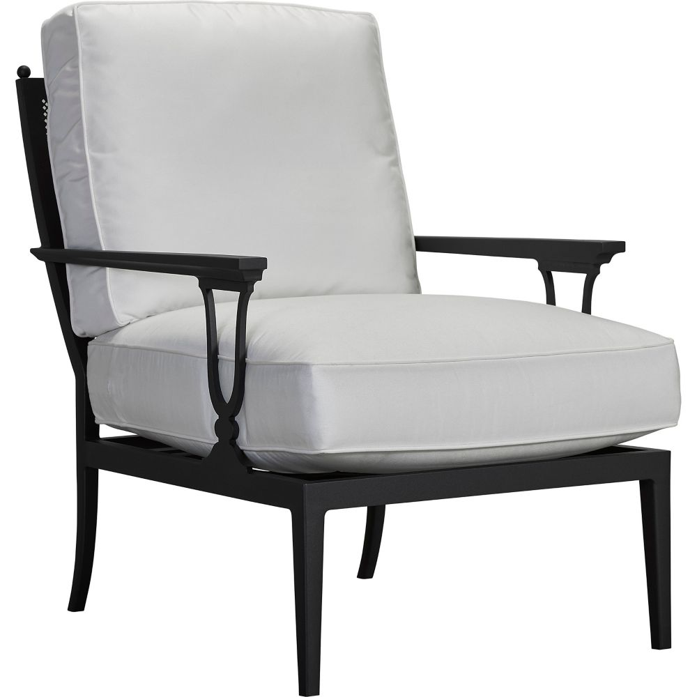 LANE VENTURE Winterthur Estate Lounge Chair  -  X-Back