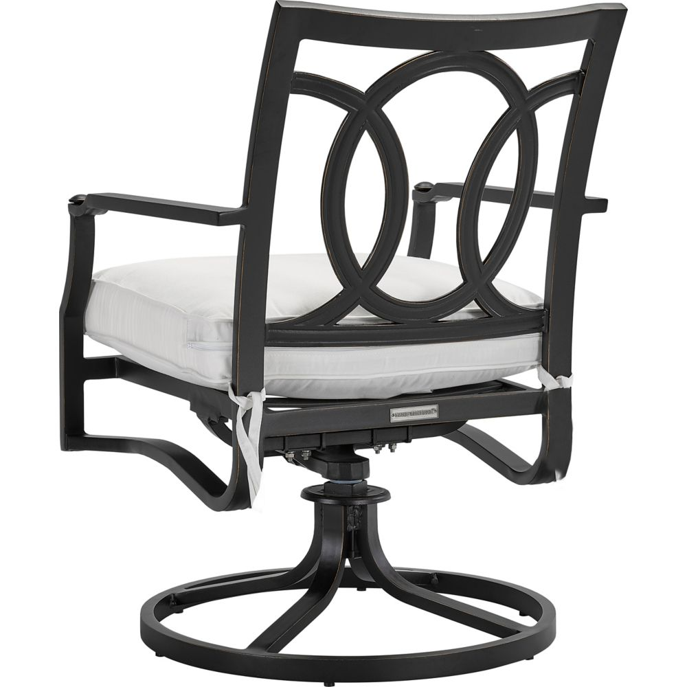 LANE VENTURE Raleigh Swivel Dining Arm Chair