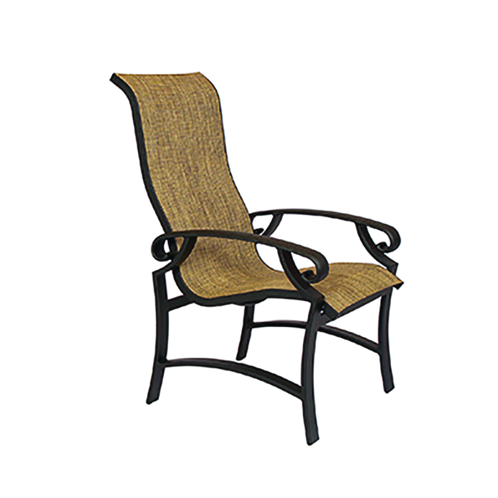 LANE VENTURE Monterey Sling Ultra High Back Dining Chair