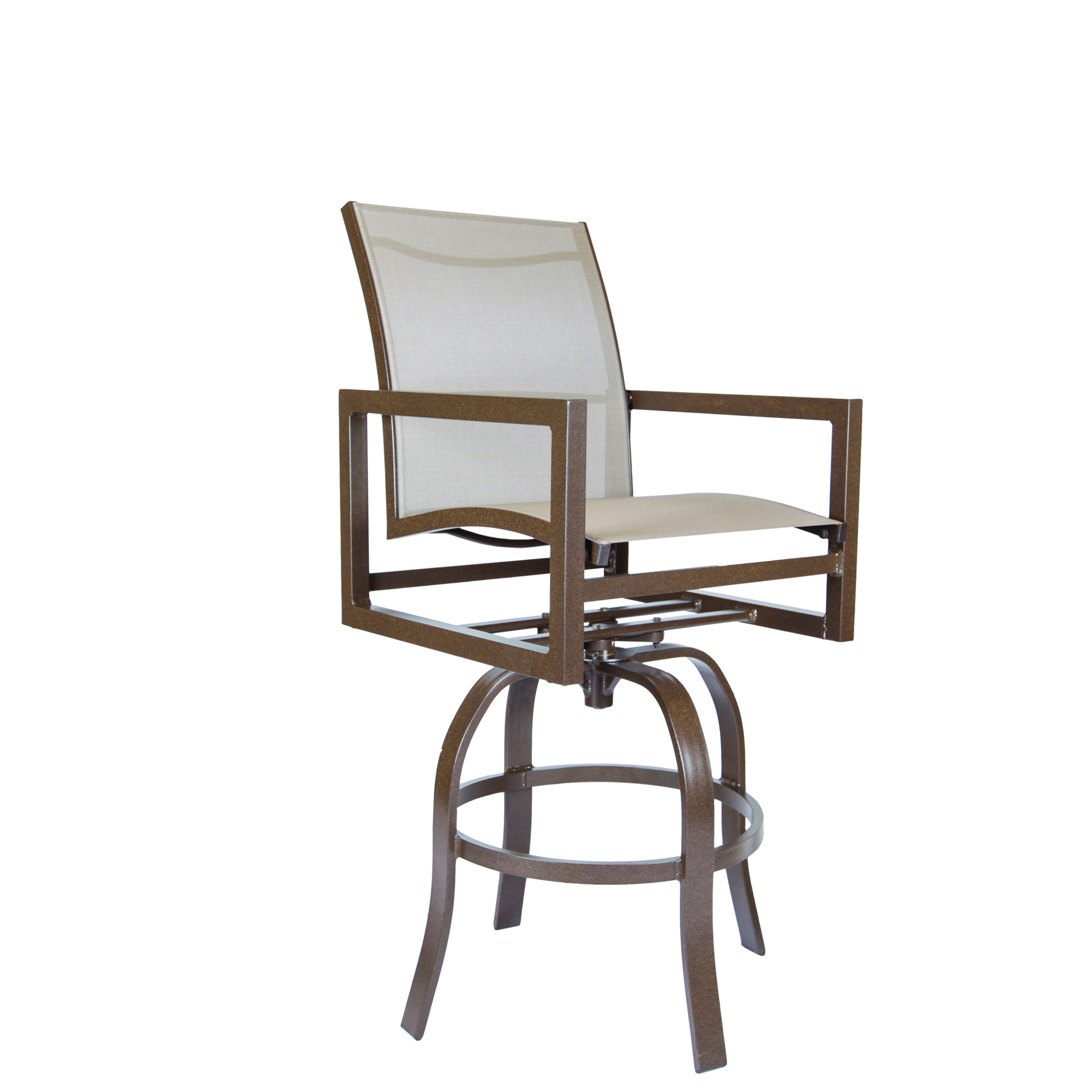 LANE VENTURE Cypress Sling Swivel Bar Stool