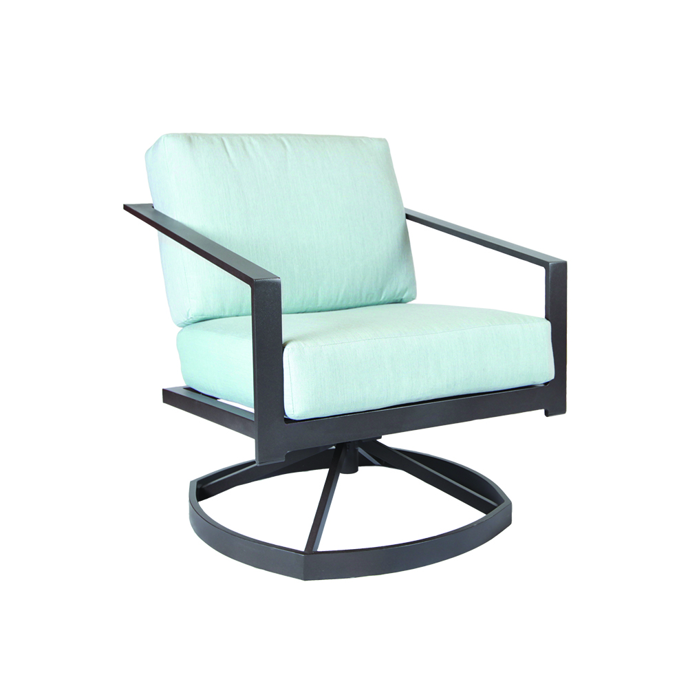 LANE VENTURE Capstone Cushion Swivel Lounge Chair