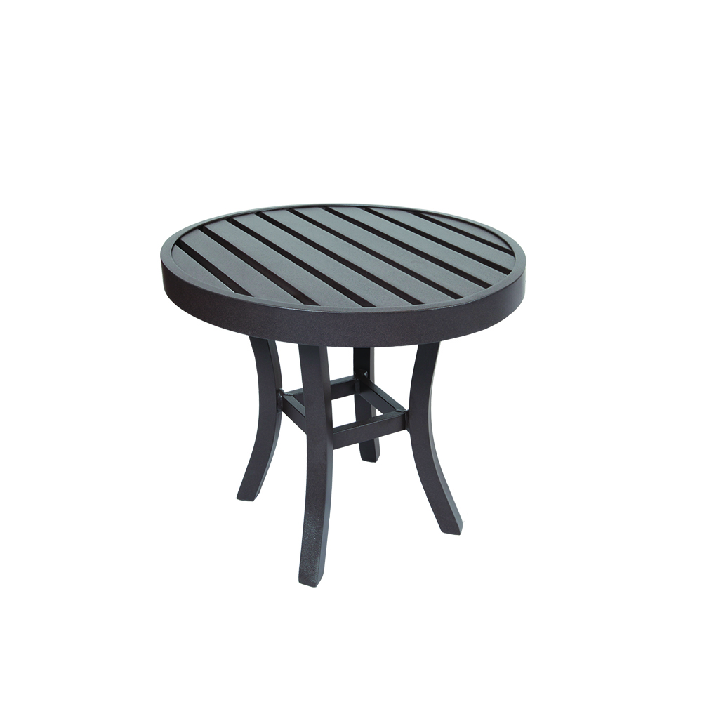 LANE VENTURE Craftsman Round Round End Table