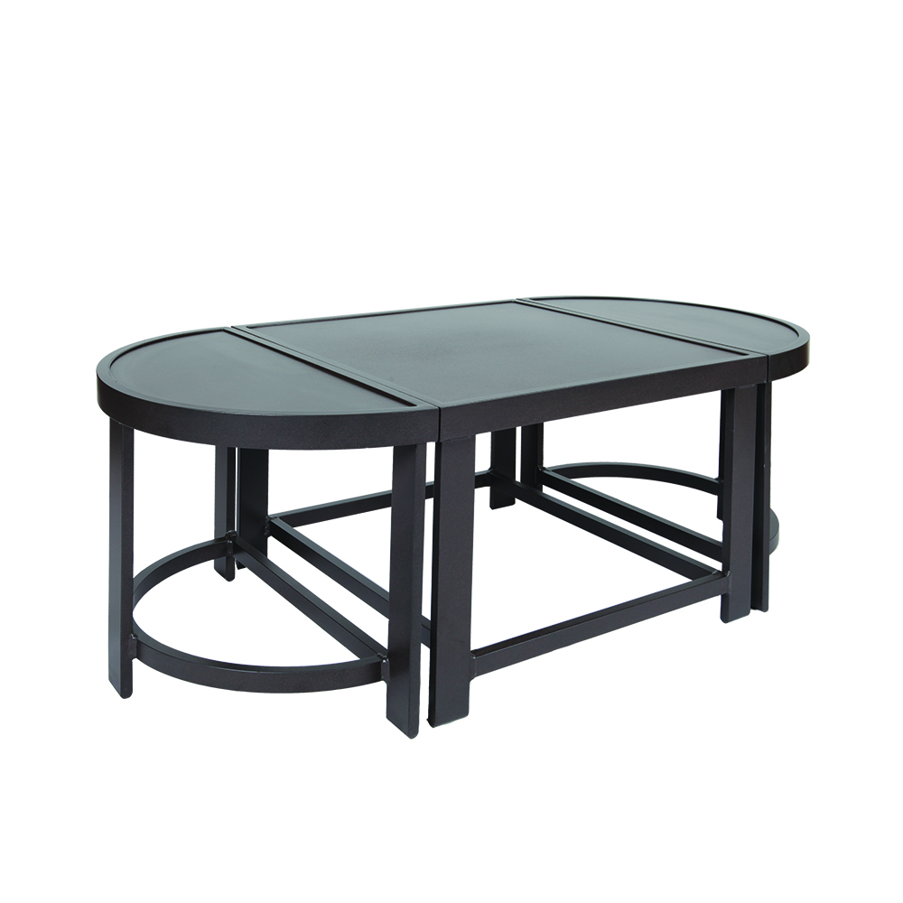 LANE VENTURE Horizon 3-piece Oval Cocktail Table