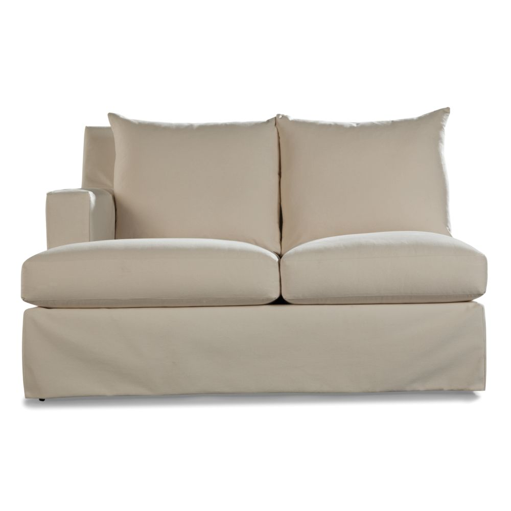LANE VENTURE Douglas LF One Arm Loveseat - Lounge Depth