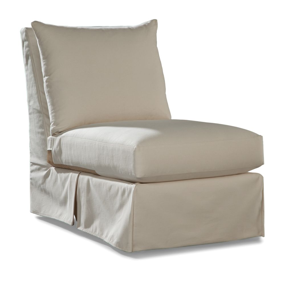LANE VENTURE Douglas Armless Chair - Club Depth