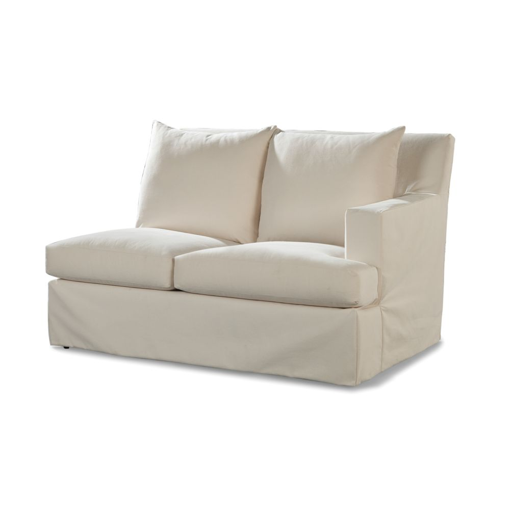 LANE VENTURE Douglas RF One Arm Loveseat - Club Depth