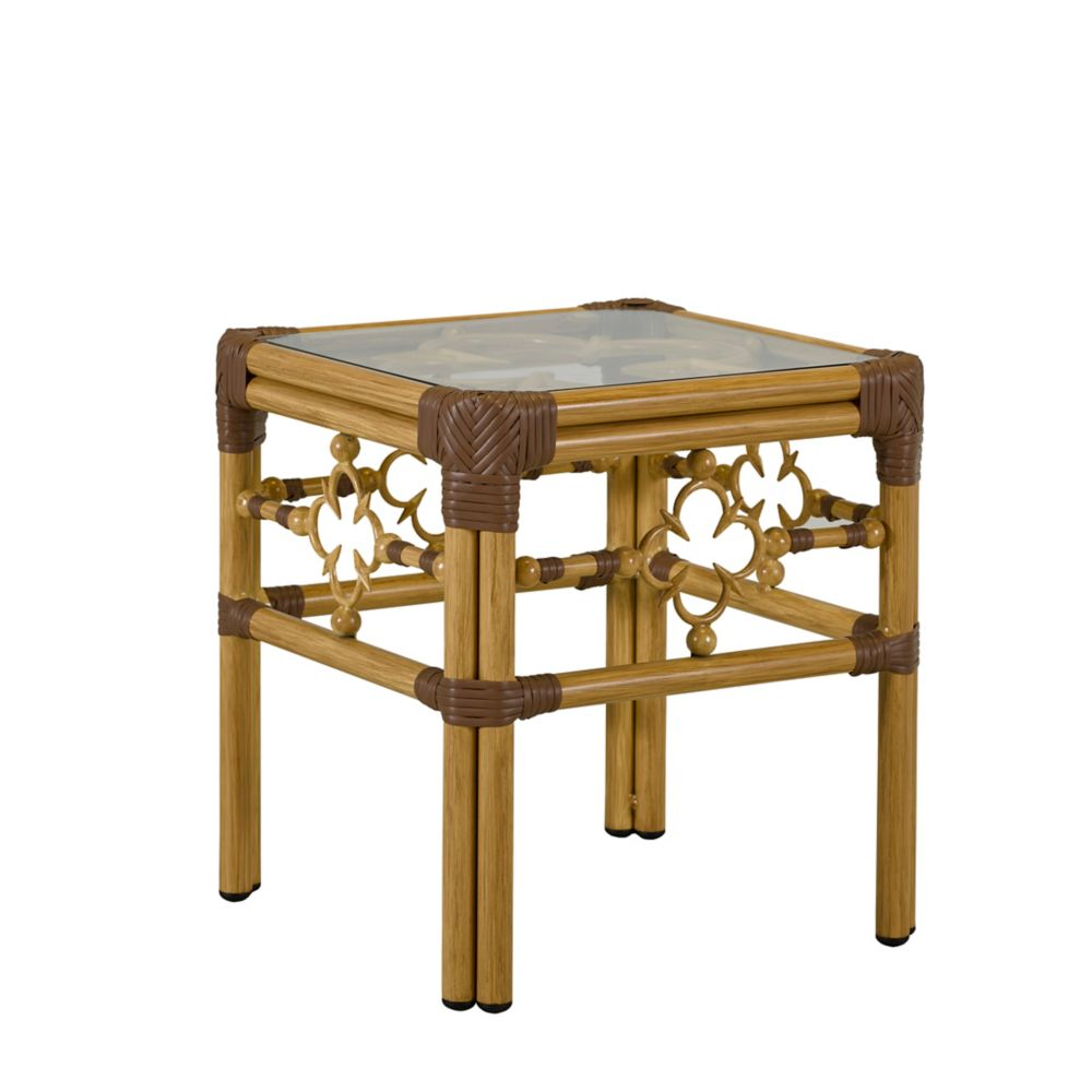 LANE VENTURE Mimi by Celerie Kemble Square Accent Table