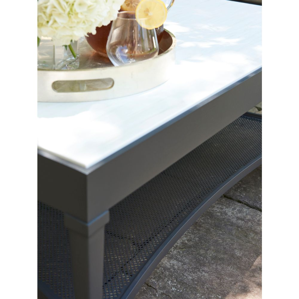 LANE VENTURE Winterthur Estate Rectangular Cocktail Table