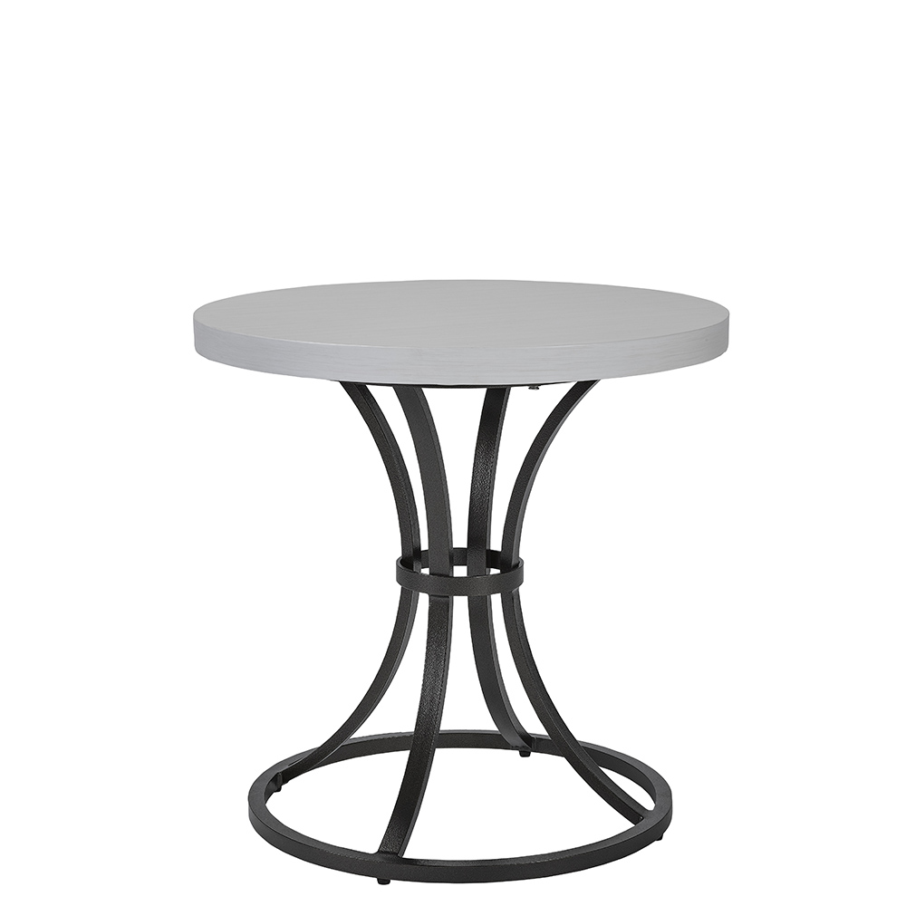 LANE VENTURE Calistoga Round End Table