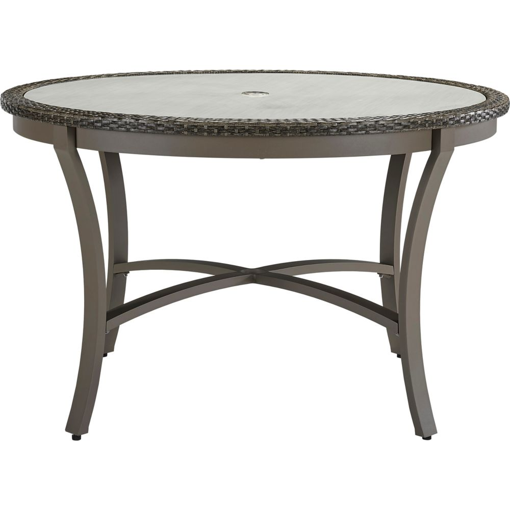 LANE VENTURE Oasis 48in Round Dining Table