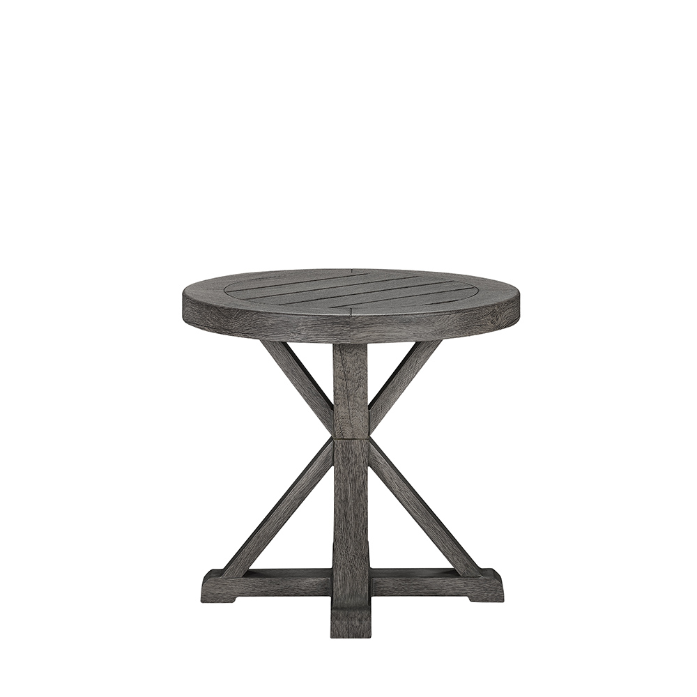 LANE VENTURE Mystic Harbor Round Accent Table