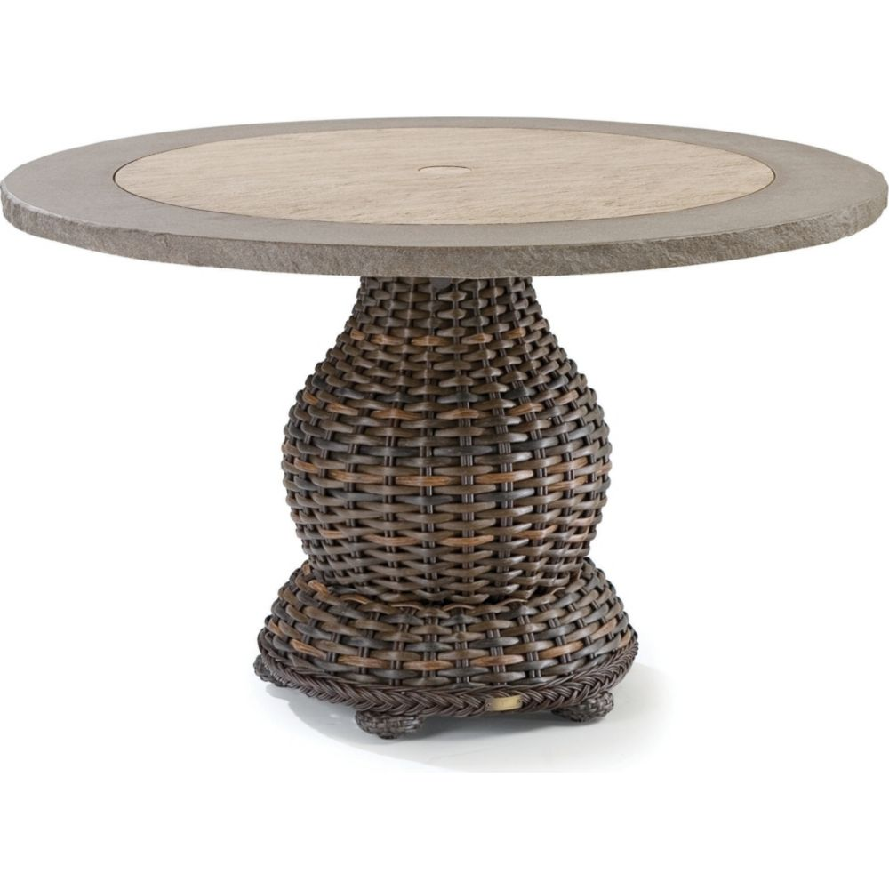 LANE VENTURE South Hampton Round Dining Table with Composite Top