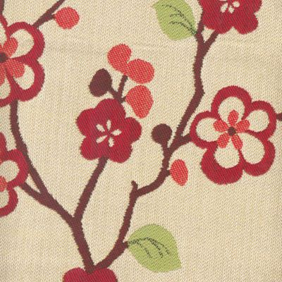 Fabric Swatch:  HAIKU CHERRY
