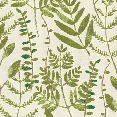 Fabric Swatch:  LEAFY BRANCHES SPRING