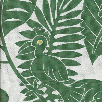 Fabric Swatch:  GRAPHIC TROPIC JUNGLE