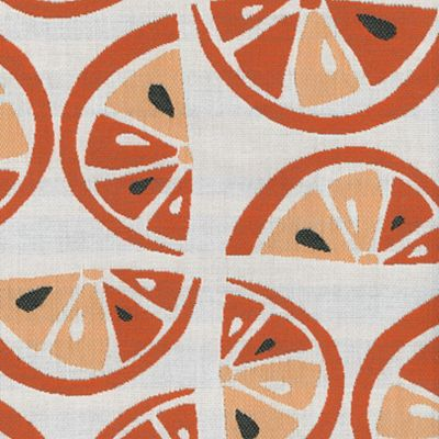 Fabric Swatch:  CITRUS TANGERINE