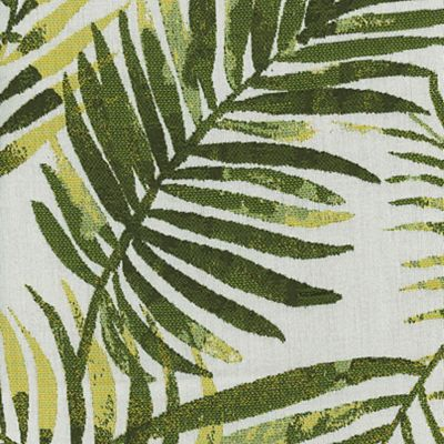 Fabric Swatch:  TROPICAL LEAVES PALM