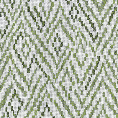 Fabric Swatch:  CHEVRON TOSS LEAF