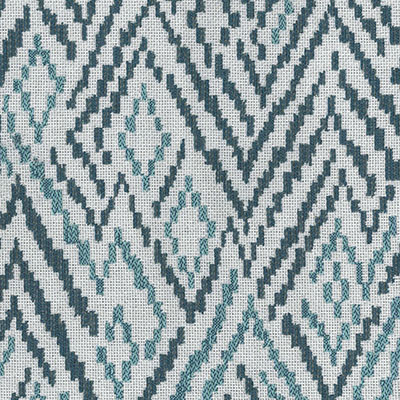 Fabric Swatch:  CHEVRON TOSS GROTTO
