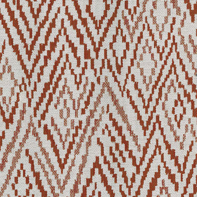 Fabric Swatch:  CHEVRON TOSS TERRACOTTA