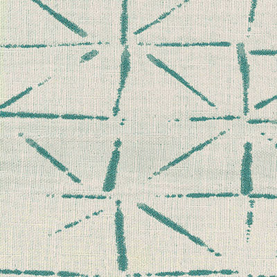 Fabric Swatch:  SHIBORI LATTICE AQUA