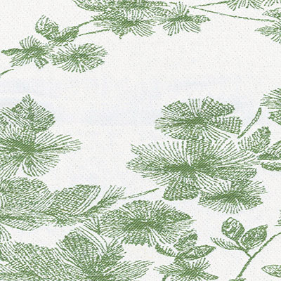Fabric Swatch:  SHIMA BLOOM LEAF