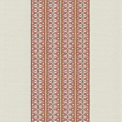 Fabric Swatch:  VEVI TERRACOTTA