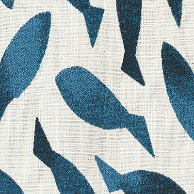 Fabric Swatch:  SHOAL SAPPHIRE