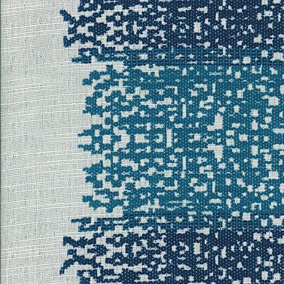 Fabric Swatch:  COZY PIXELS NAUTICAL