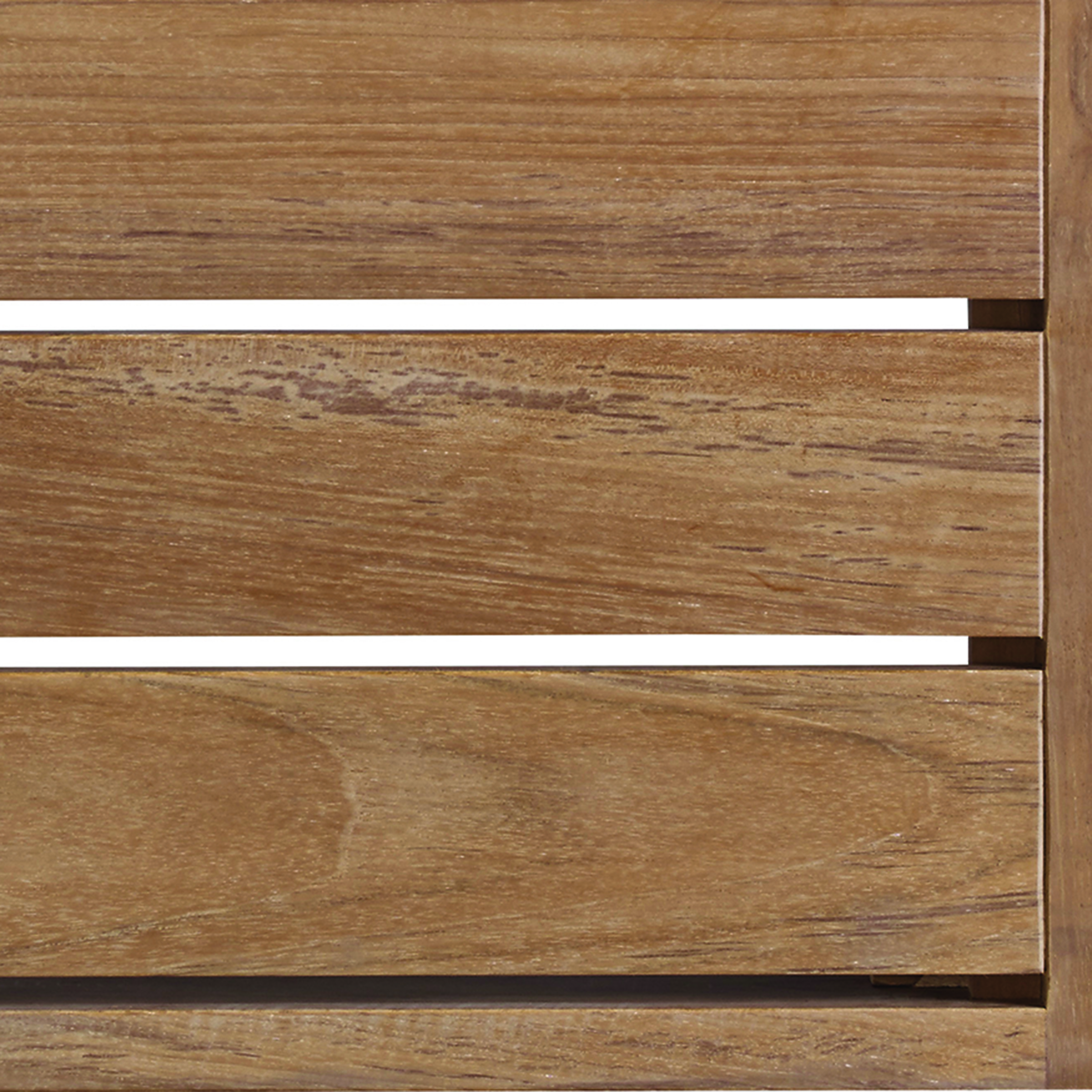 Finish Swatch:  NATURAL TEAK